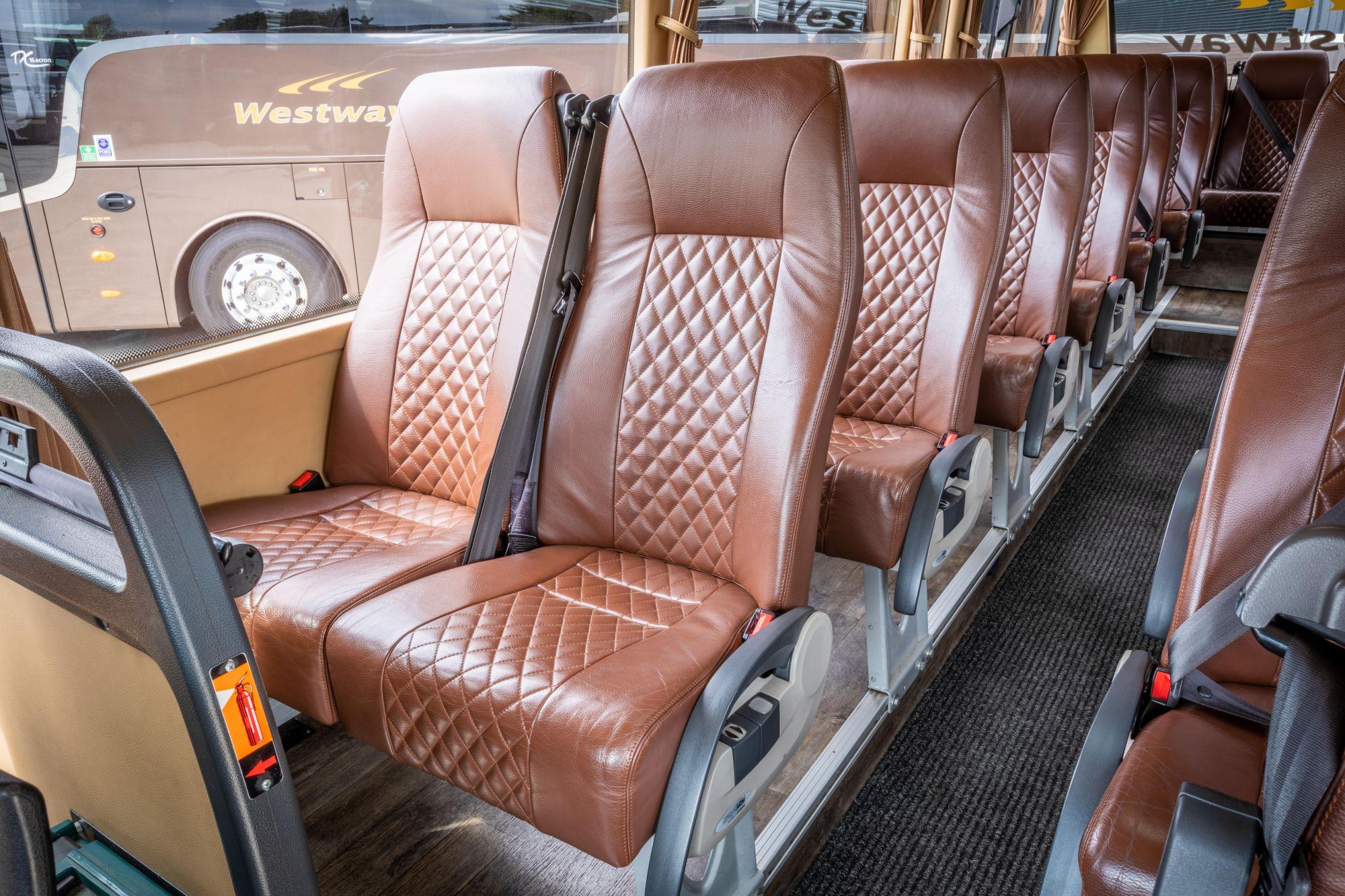 19 seater interior 2